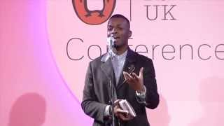 George The Poet presents Search Party at the Penguin Random House UK Conference 2015