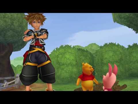 Kingdom Hearts 2 HD Final Mix MOVIE (Disney's Winnie The Pooh) 60FPS 1080P