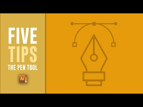 Illustrator Pen Tool Tutorial - 5 AWESOME Pen Tool Tips For Adobe Illustrator