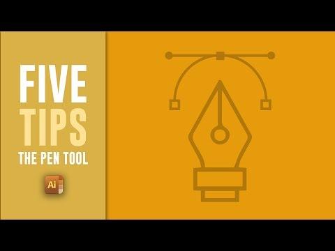 Illustrator Pen Tool Tutorial - 5 AWESOME Pen Tool Tips For Adobe Illustrator