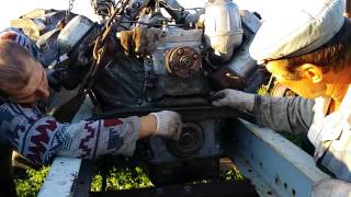 20140720 200425(Установка двигателя на трактор Бизон ч.4., 2015-03-10T06:21:23.000Z)