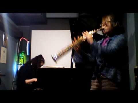 大澤香織(P)小森慶子(Bcl)Free Jazz@市川HSTRASH2011