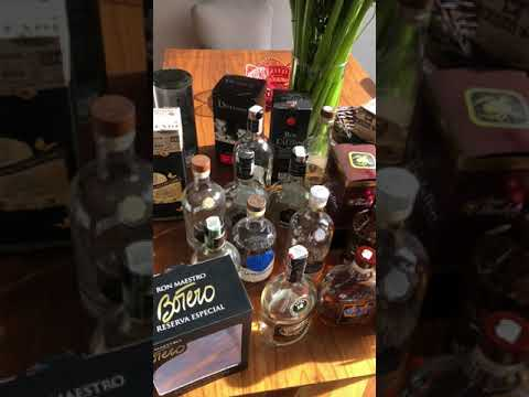 Daily Life Rum Collection Bogota Colombia Nov 2018 (1)