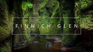 Landscape Photography - Mountain and Gorge Composition and Settings in Scotland