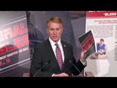 "Senator Lankford Releases ""Federal Fumbles"" Waste Report"