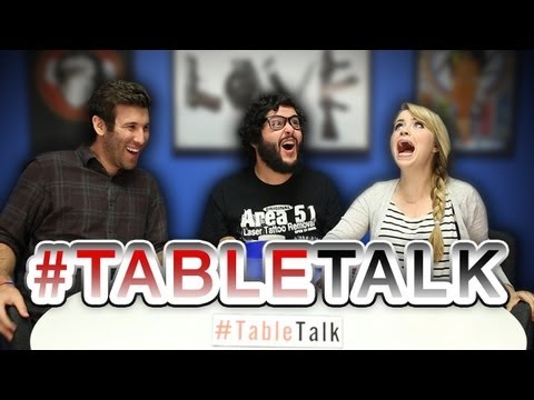Gay in a Straight World, and Talking to the Animals! #TableTalk