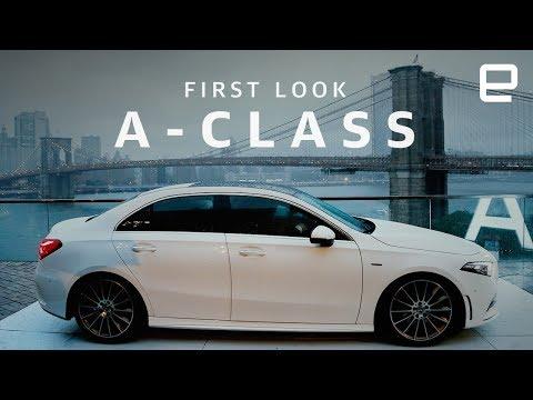 Mercedes-Benz A-Class sedan First Look