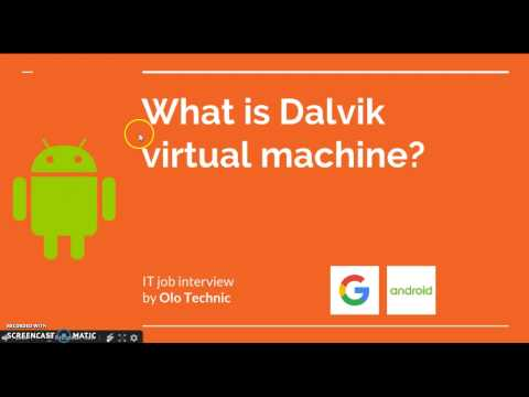 [Android] What is Dalvik virtual machine?