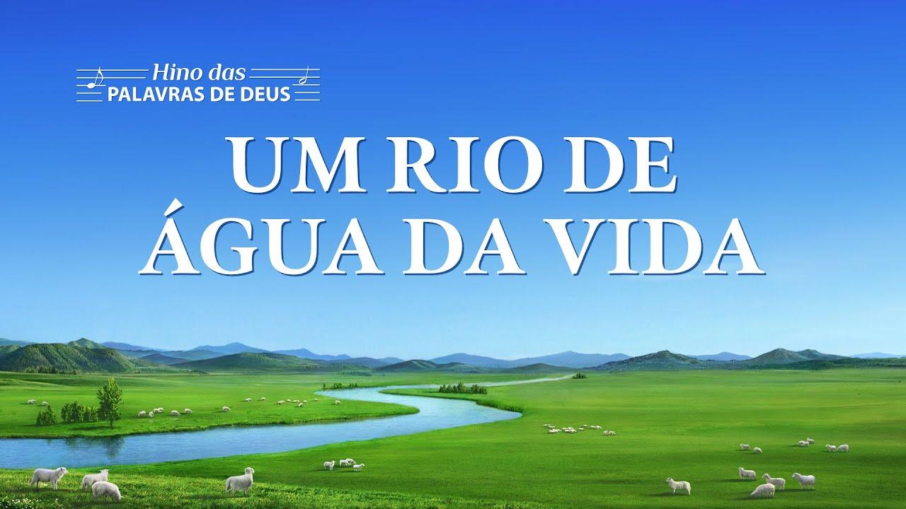 """Melhor música gospel em português """"Um rio de água da vida"""""""