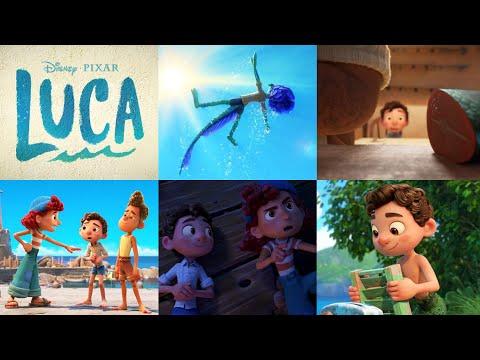 Disney and Pixar's Luca   Teaser Trailer shot by shot breakdown