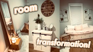 quarantine day 5: REDECORATING MY ROOM! boho/farmhouse decor