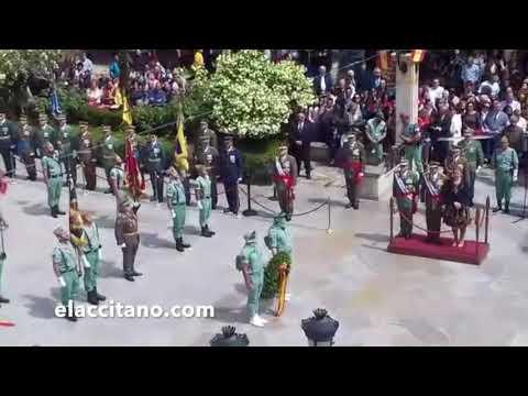 Jura de bandera en Guadix