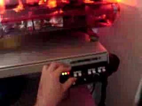 Code 3 Mastercom Siren and MX7000 Lightbar - YouTube