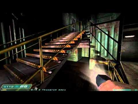 Let's Play Doom 3 Part 15: Monorail Internship