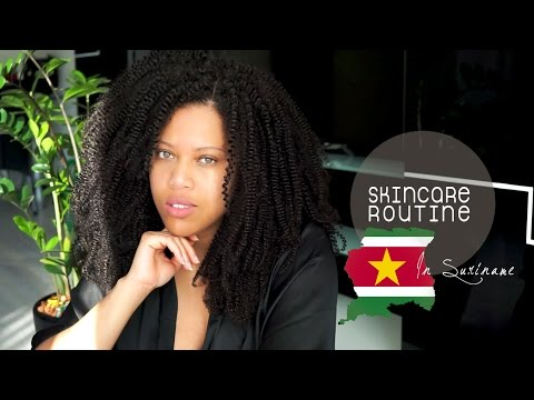MY EVERYDAY SKINCARE ROUTINE - SURINAME EDITION w/ MOXISPIN // Samantha Pollack