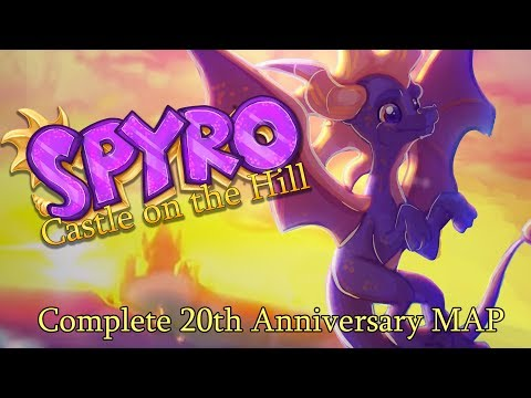 Spyro 20th Anniversary MAP - Castle on the...