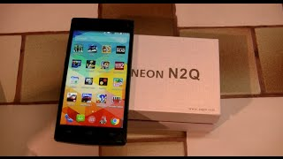 Axgio Neon N2Q - Android 4.4 Stock 3G H+ et Octo Cœur à ~90 euros !