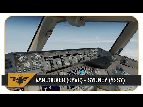 [Prepar3D v3] ACA33 | Vancouver (CYVR) - Sydney (YSSY) | VATSIM ATC | PMDG 777 | 17hrs of flying :(