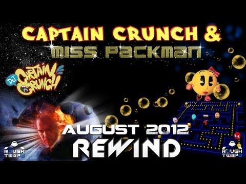CAPTAIN CRUNCH & MISS PACKMAN - Rough Tempo LIVE! - August 2012