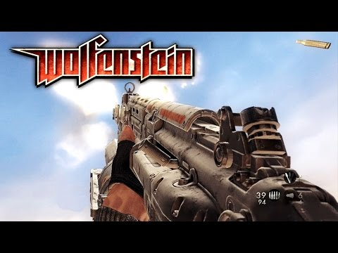 Wolfenstein The New Order Gameplay: Dead Enemy |