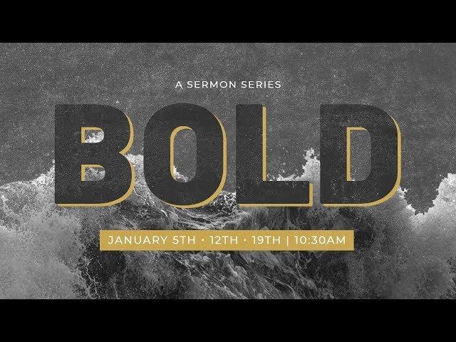 Pastor Randon | Bold Pt. 2