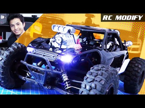 RC Modify 24 | Yeti DKDGWi V8 Supercharged Mad Max Style