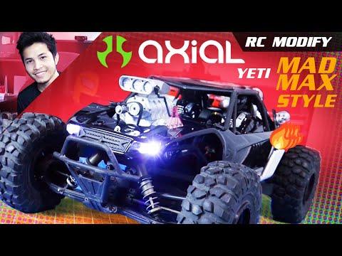 RC Modify 24 | Yeti DDW V8 Supercharged Mad Max Style