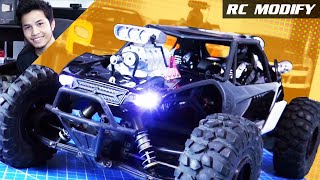 vuclip RC Modify 24   Yeti DDW V8 Supercharged Mad Max Style