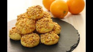Апельсиновое Печенье с Арахисом Турецкая Кухня ✧Orange Peanut Cookies✧Portakallı Fıstıklı Kurabiye