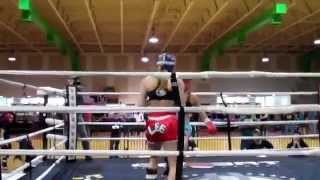 "Andrea ""KGB"" Lee vs. Christy Tyquiengco, WKA 2014"