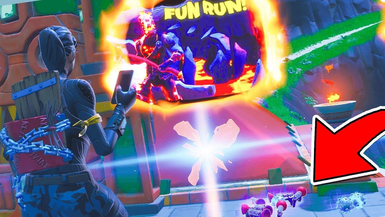 I Cheated in CIZZORZ FUN RUN... (Fortnite Creative)