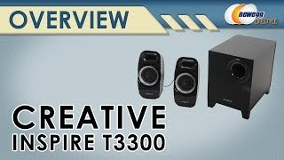 Creative Inspire T3300 2.1 Speaker System Overview - Newegg Lifestyle