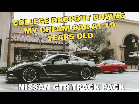 Dropout Buying $100,000 DREAM CAR Nissan GT-R at 19! Ecommerce Entrepreneur