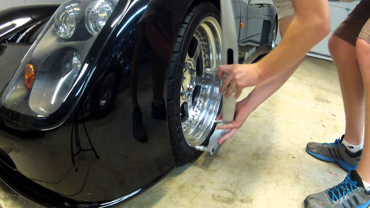 Professional Camber/Caster Gauge, DIY wheel alignment from ...