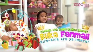 Wow Sehari dapat 4 Fanmail 😍 Fanmail nya KEREN KEREN BANGET 😍 Zara Cute buka Kado