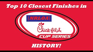 Top 10 Closest Finishes in CFACS History