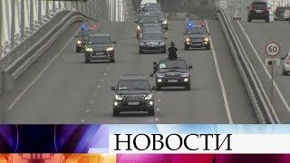 Северокорейский лидер Ким Чен Ын прибыл во Владивосток на личном бронепоезде.