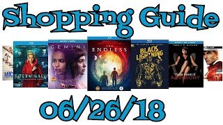 New Blu-Ray, DVD Shopping Guide For 6/26/18