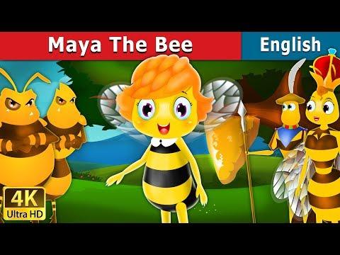 Maya the Bee in English   English Story   English Fairy Tales