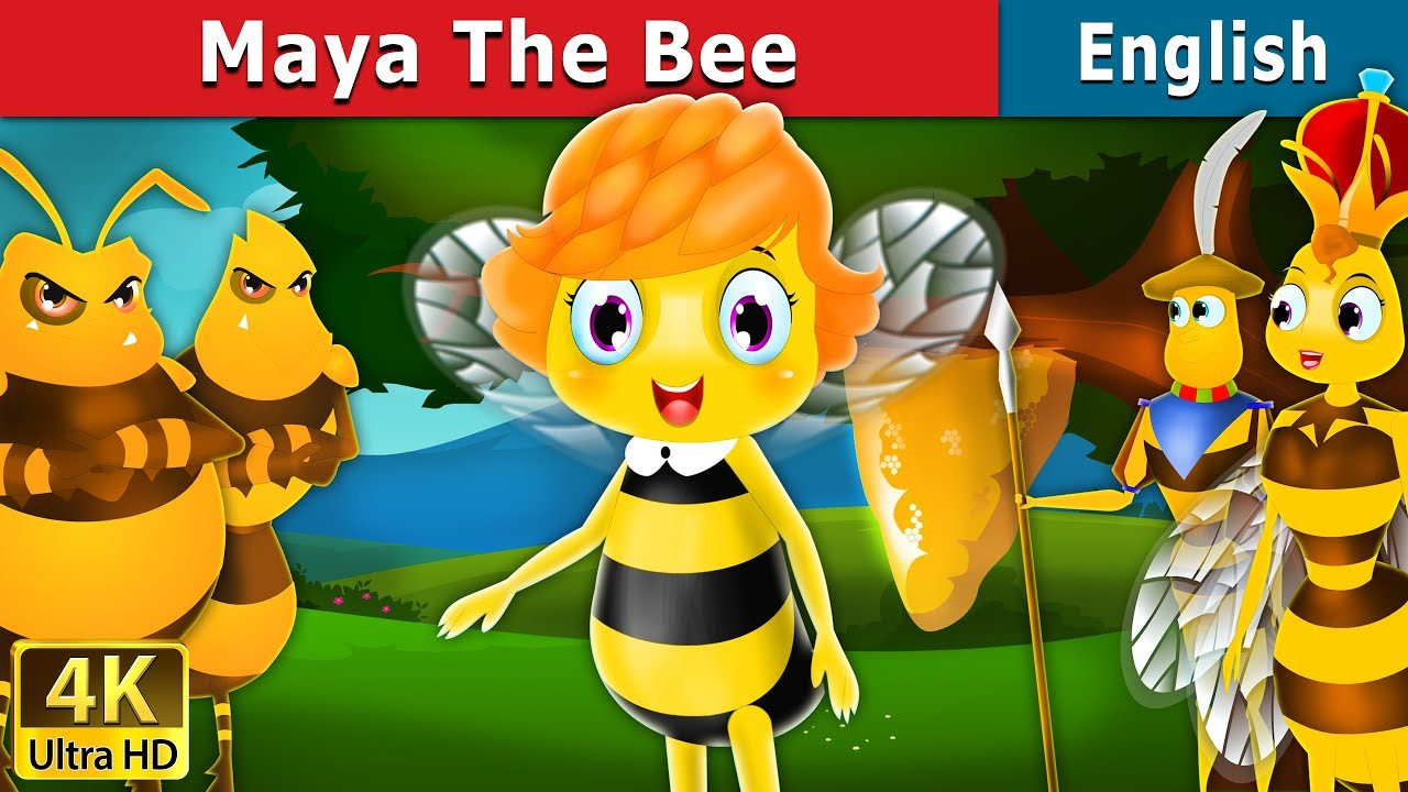 Maya the Bee | Stories for Teenagers | English Fairy Tales