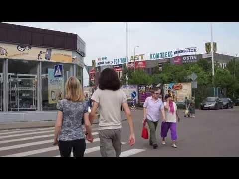 Прогулка вокруг гостиниц Измайлово Альфа, Бета, Вега и Гамма-Дельта