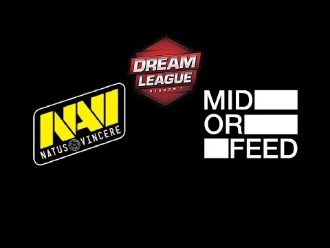 Navi vs Mid or Feed DreamLeague season 8 Highlights Dota 2