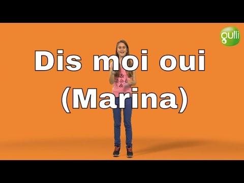 Download Dis-moi oui (Marina) de Keen'V en signes avec Noémie sur Gulli ! Saison 3