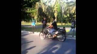 DCMS Latihan drag bike di kisaran part 1