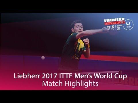 2017 Men's World Cup Highlights I Marcos Freitas vs David Powell (Group)