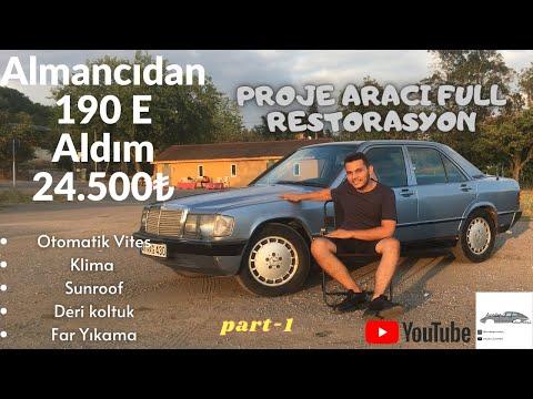 190 E Aldım   Almancıdan 24.500 ₺ Proje aracı Full Restorasyon Yapılacak