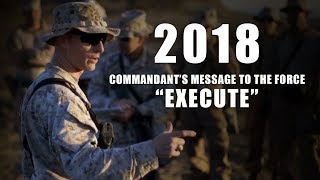 CMC's Message to the Force   Execute