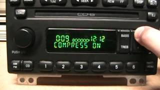 Ford Visteon CD-6 radio with AM Stereo & RDS