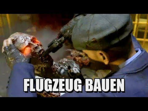 CALL OF DUTY BLACK OPS 2 Zombie Mode Gameplay - Flugzeug bauen