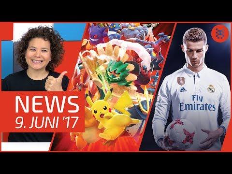 NEWS Pokémon Für Switch & 3DS - FIFA 18 - E3 2017 - Dissidia Final Fantasy NT - Mega Man